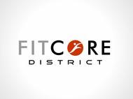 FitCore District Logo - Entry #169