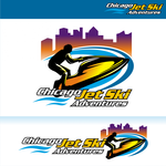 Chicago Jet Ski Adventures Logo - Entry #26