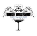 Black umbrella coffee & cocktail lounge Logo - Entry #197
