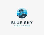 Blue Sky Life Plans Logo - Entry #380