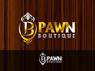 Either Midtown Pawn Boutique or just Pawn Boutique Logo - Entry #17