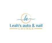 Leah's auto & nail lounge Logo - Entry #96