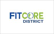 FitCore District Logo - Entry #129