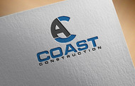 CA Coast Construction Logo - Entry #169