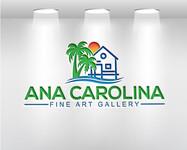 Ana Carolina Fine Art Gallery Logo - Entry #219