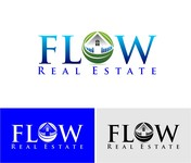 Flow Real Estate Logo - Entry #71