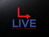 LiveDream Apparel Logo - Entry #251