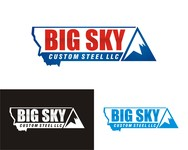 Big Sky Custom Steel LLC Logo - Entry #114