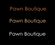 Either Midtown Pawn Boutique or just Pawn Boutique Logo - Entry #12