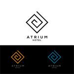 Atrium Hotel Logo - Entry #130
