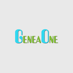 GeneaOne Logo - Entry #4