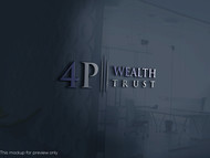 4P Wealth Trust Logo - Entry #329