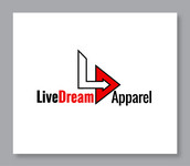 LiveDream Apparel Logo - Entry #64