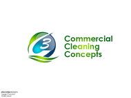 Commercial Cleaning Concepts Logo - Entry #22