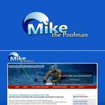 Mike the Poolman  Logo - Entry #38
