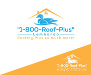 1-800-Roof-Plus Logo - Entry #66