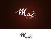 Maz Designs Logo - Entry #392