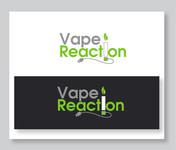 Vape Reaction Logo - Entry #131