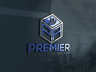 Premier Accounting Logo - Entry #105