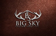 Big Sky Custom Steel LLC Logo - Entry #15