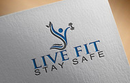 Live Fit Stay Safe Logo - Entry #22