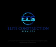 Elite Construction Services or ECS Logo - Entry #195