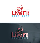 Live Fit Stay Safe Logo - Entry #59