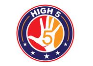 High 5! or High Five! Logo - Entry #20