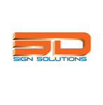 3D Sign Solutions Logo - Entry #52