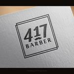 417 Barber Logo - Entry #25