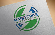 Hard drive garage Logo - Entry #276