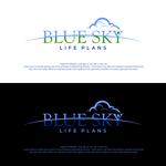 Blue Sky Life Plans Logo - Entry #389