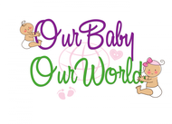 Logo for our Baby product store - Our Baby Our World - Entry #77