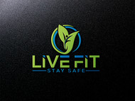 Live Fit Stay Safe Logo - Entry #102
