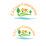 CA Coast Construction Logo - Entry #180