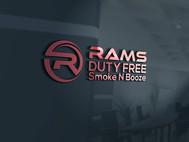 Rams Duty Free + Smoke & Booze Logo - Entry #252