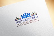 South East Qld Landscaping and Fencing Supplies Logo - Entry #81