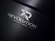 Revolution Roofing Logo - Entry #201