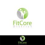 FitCore District Logo - Entry #58