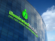 Illuminated Mobile  OR Illuminated M ... I own both urls and I'm still considering what brand to lead with. Logo - Entry #178