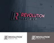 Revolution Fence Co. Logo - Entry #316