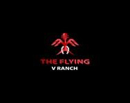 The Flying V Ranch Logo - Entry #30
