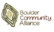 Boulder Community Alliance Logo - Entry #148