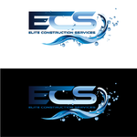 Elite Construction Services or ECS Logo - Entry #19