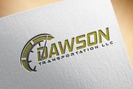 Dawson Transportation LLC. Logo - Entry #97