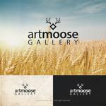 ArtMoose Gallery Logo - Entry #1
