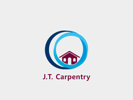 J.T. Carpentry Logo - Entry #7