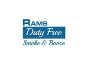 Rams Duty Free + Smoke & Booze Logo - Entry #84