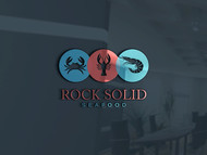 Rock Solid Seafood Logo - Entry #191