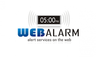 Logo for WebAlarms - Alert services on the web - Entry #126
